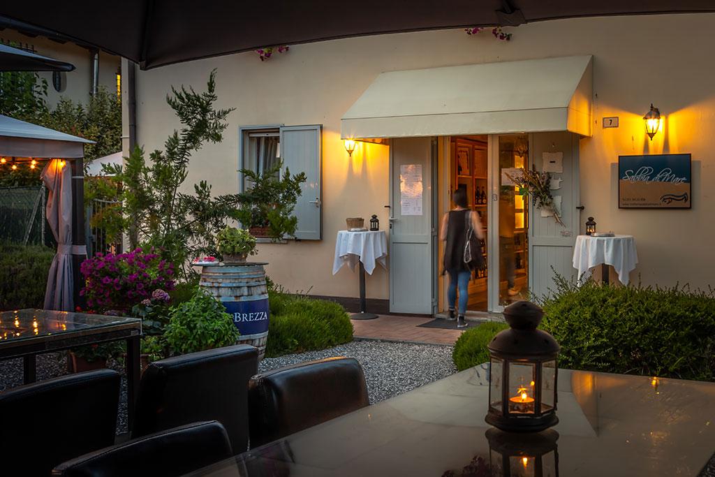 ristorante pesce bologna - location intima bologna - sabbia di mare